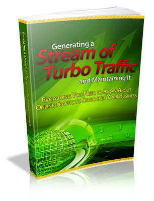 Product picture Generating a Stream of Turbo Traffic and Maintaining It -MRR