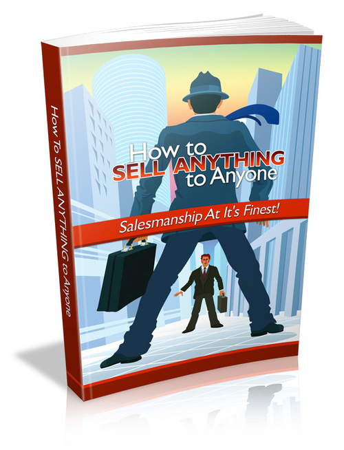 Product picture How to Sell Anything to Anyone - MRR