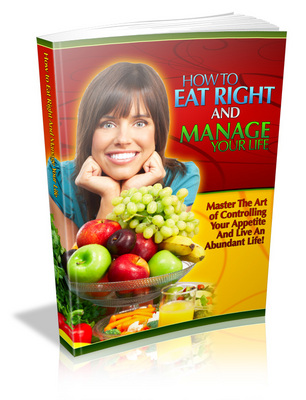 Product picture How to Eat Right and Manage Your Life - MRR